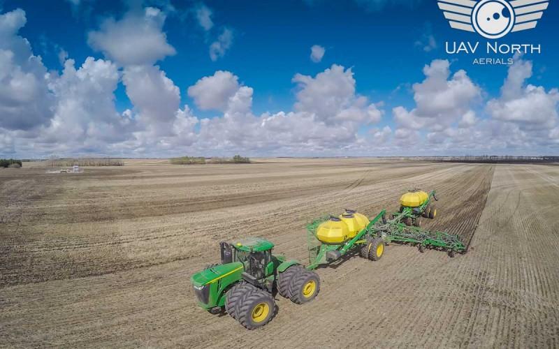 Edmonton Farm Aerial Photos & Video