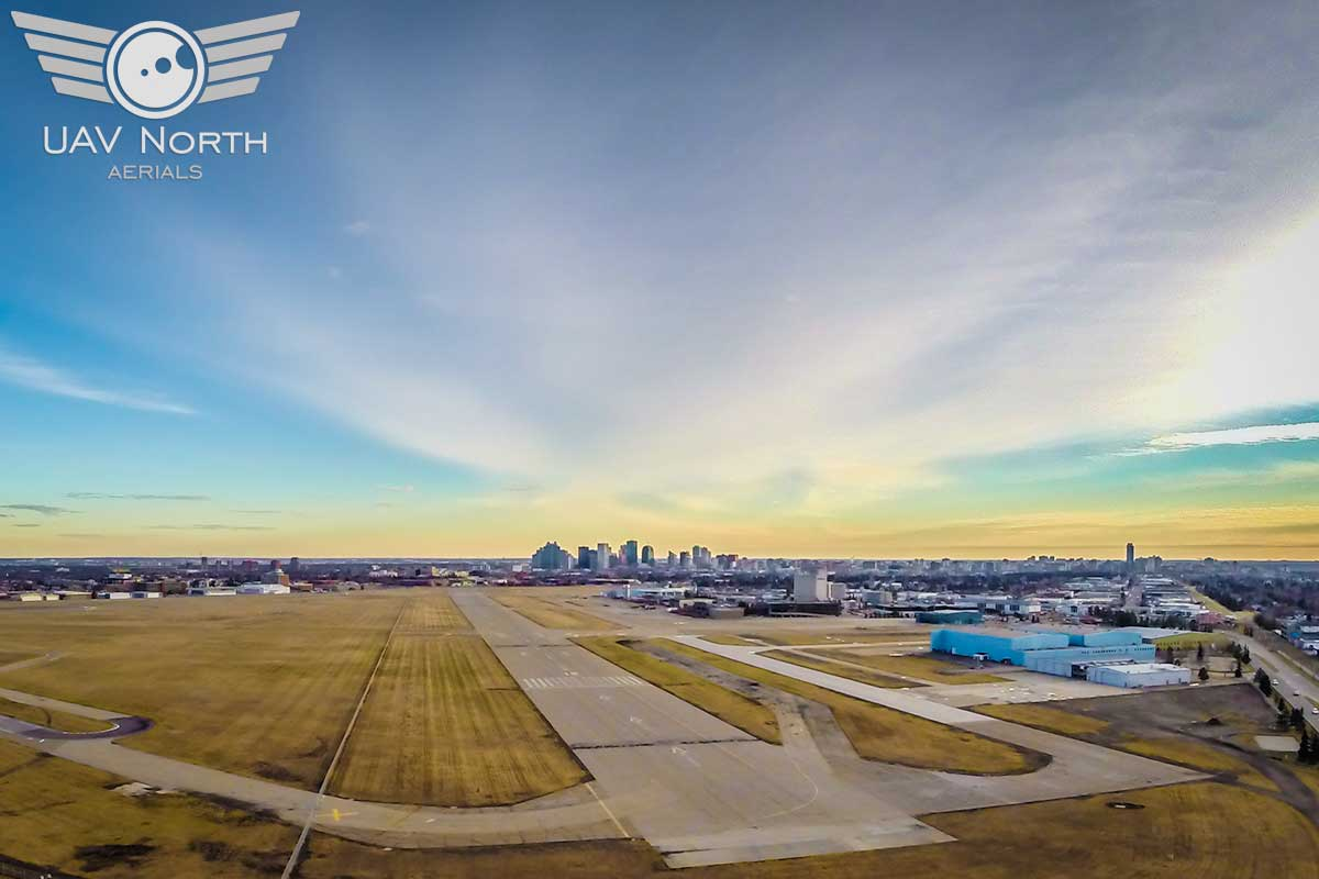 Edmonton City Centre Airport Aerial Photo