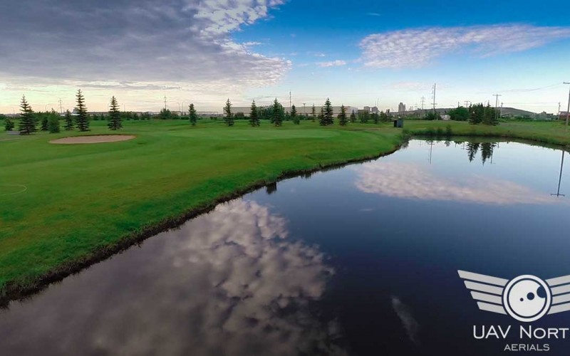Twin Willows Golf Club Aerial Fly Through Video