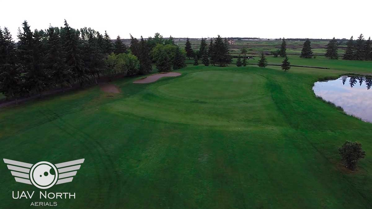 Twin Willows Golf Club Aerial Photo