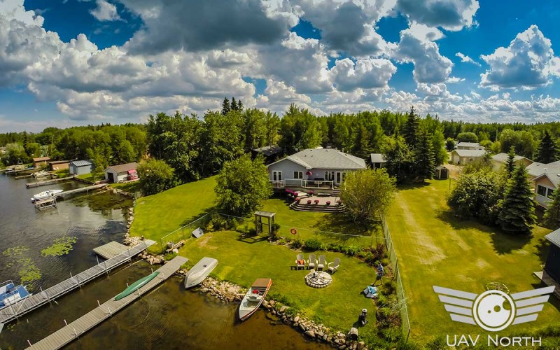 Real Estate Aerial Photos and Video at Wizard Lake