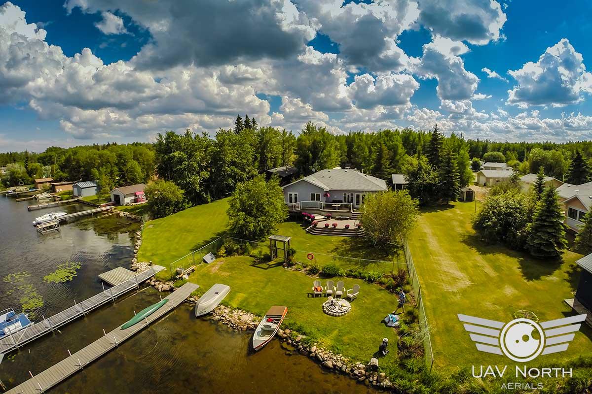 Real Estate Aerial Photos And Video At Wizard Lake Uav North