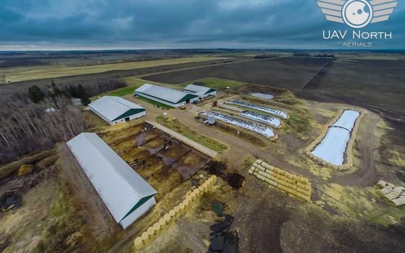 Alberta Farm Aerial Photos