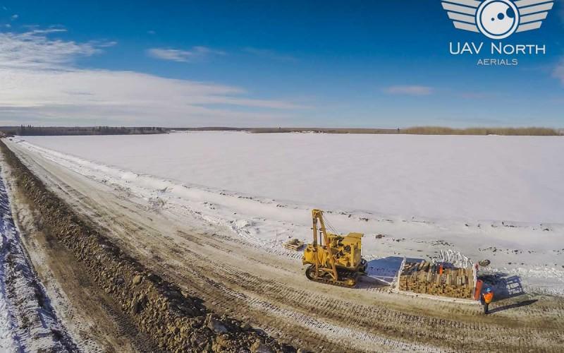Alberta Oilfield Aerial Photos