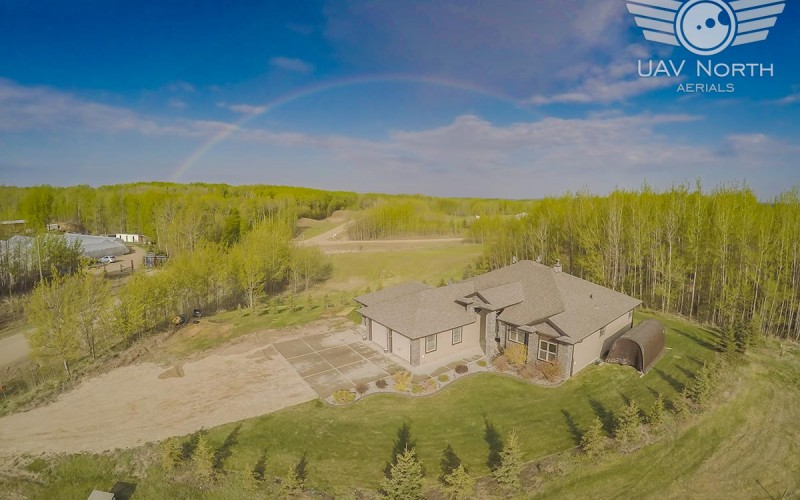Aerial Photos and Video of Edmonton Area Real Estate