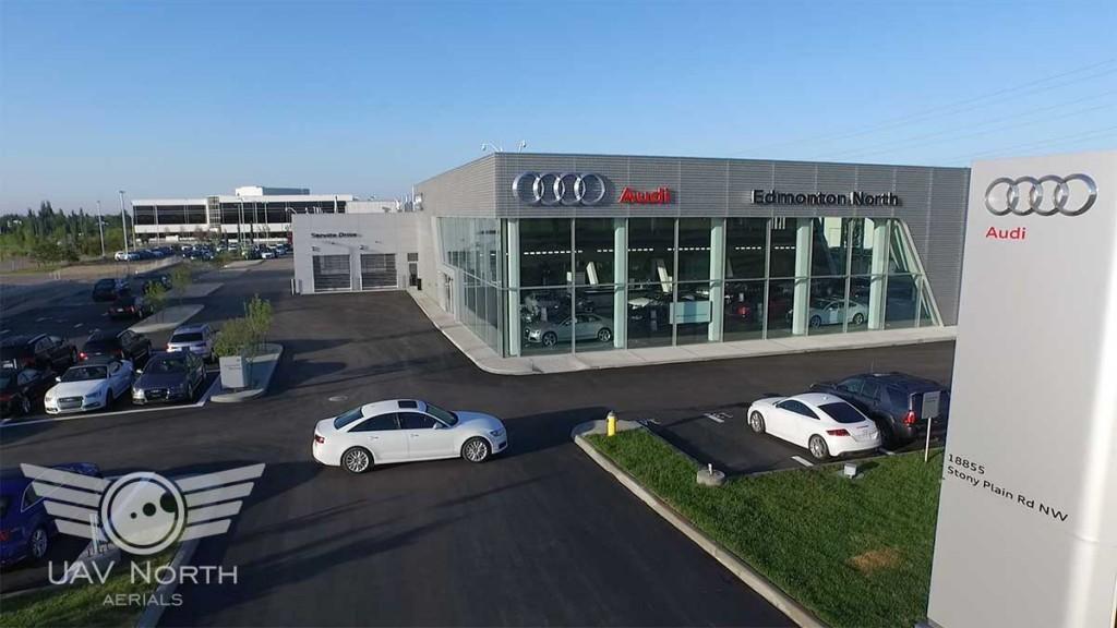 Audi Edmonton North Aerial