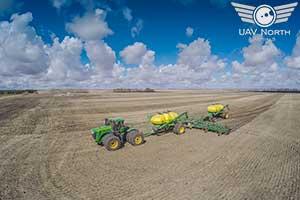 Edmonton Farm Aerial Photo
