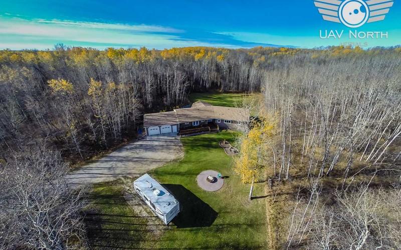 Stony Plain Acreage Aerial Photos