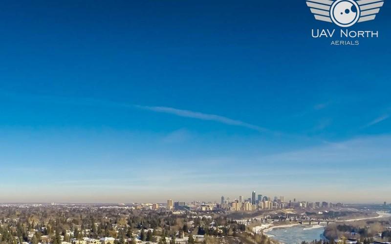 Edmonton Aerial Video – 13841 Summit Drive