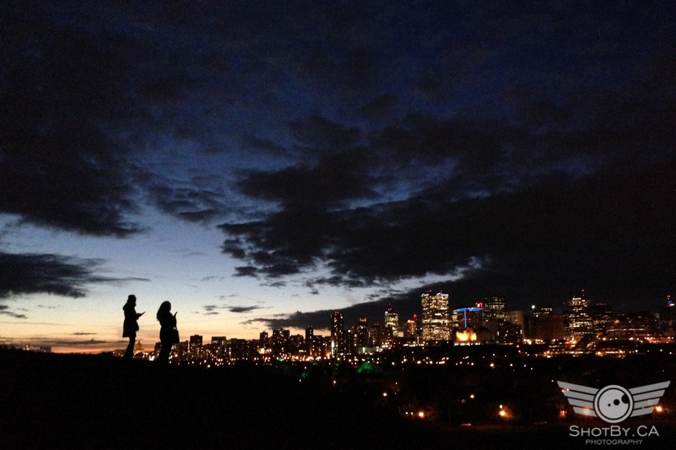 Downtown Edmonton Sunset