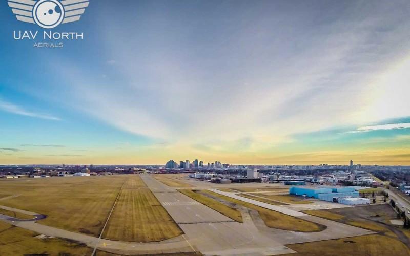 Edmonton City Centre Airport Aerial Photo