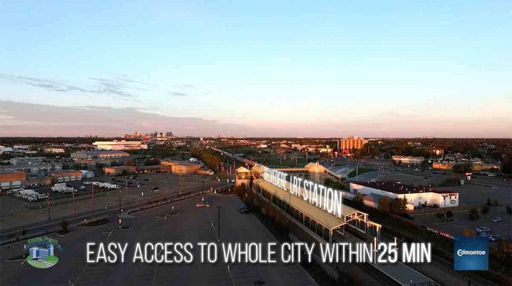 Station Pointe Aerial Video
